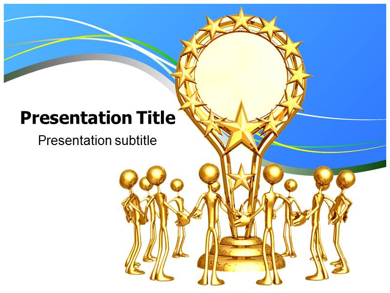 Trophy PPT Powerpoint Templates