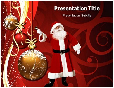 Christmas Themes Powerpoint Templates