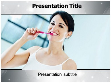 Oral Hygiene 1 Powerpoint Templates