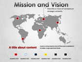 Mission and Vision powerPoint backgrounds