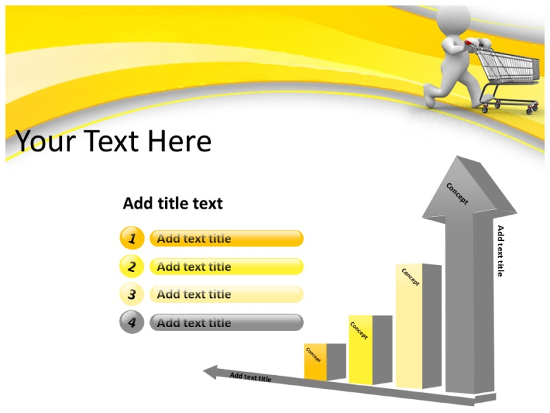 Shopping Online Powerpoint Templates