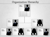 Organization Hierarchy powerpoint template download
