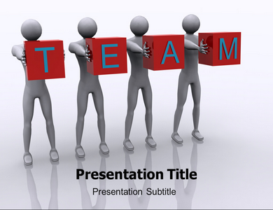 Team 1 Powerpoint Templates