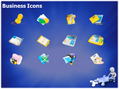 Business Solutions ppt themes template