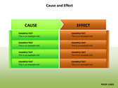 Cause and Effect Animated powerPoint background