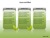 Cause and Effect Animated ppt templates