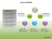 Cause and Effect Animated backgroundPowerPoint Templates