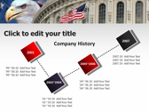 America flag powerpoint backgrounds download