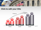 America flag full powerpoint download