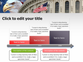 America flag powerPoint themes