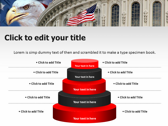America flag powerpoint slides download