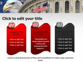 America flag powerpoint theme download