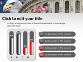 America flag powerpoint theme professional