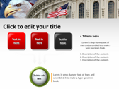 America flag powerpoint themes download