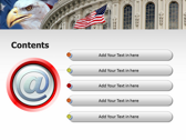 America flag ppt templates