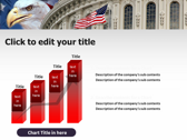 America flag slides for powerpoint