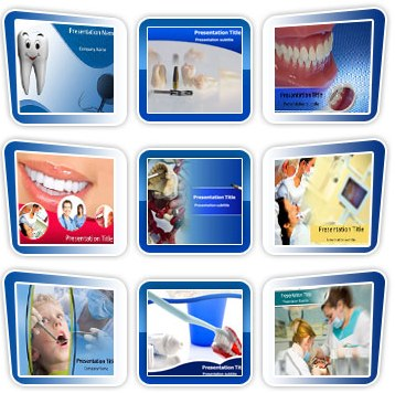 Medical powerpoint templates - Dental Template Bundle