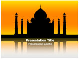 PPT Templates for Taj Mahal