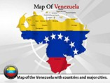 Map of Venezuela - PPT templates