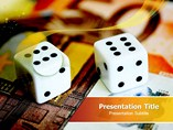 sport powerpoint templates  - Dice