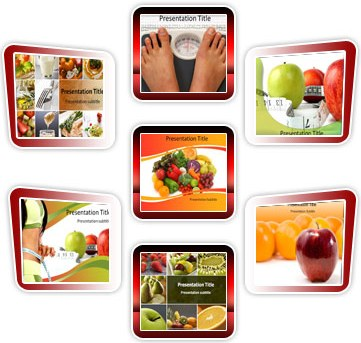 Medical powerpoint template - Diet Bundle