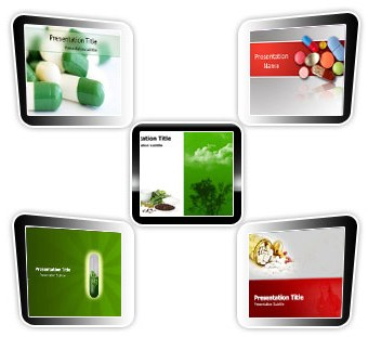 Medical powerpoint templates - Pills Bundle