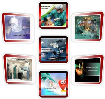 Medical powerpoint templates - Surgery Bundle