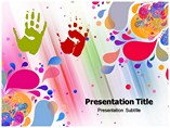Color abstract powerpoint
