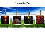 Free Powerpoint Template - Photography
