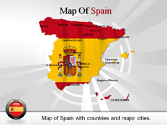 Spain PowerPoint map