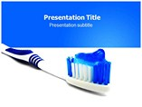 toothpaste powerpoint template