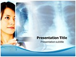 Nurse with X Ray Powerpoint Template