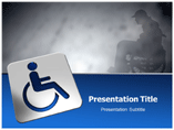 Disabled Person powerpoint templates