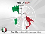 Italy Powerpoint Maps