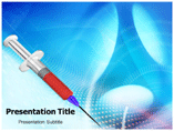 Syringe Powerpoint Template
