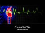 ECG Heart PowerPoint Theme