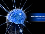 Brain Animated PowerPoint Slide