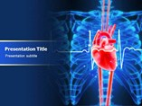 Heart Cardiology Template PowerPoint
