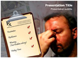 Chronic Stress PowerPoint Theme