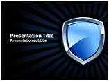 Security Shield Powerpoint Template
