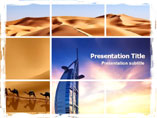 Israel Arabs Powerpoint Template
