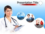 Hospital Nurse PowerPoint Background