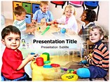 Pre School Education Powerpoint (PPT) Template