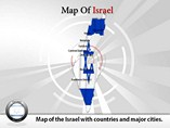 Israel Map Powerpoint
