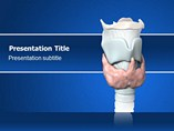 Thyroid Symptoms PowerPoint Theme