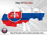 Slovakia Map Powerpoint (PPT) Template