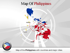 Philippines PowerPoint map