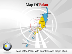 Palau PowerPoint map