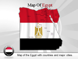 Egypt  Province Map Background