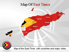 East Timor PowerPoint map